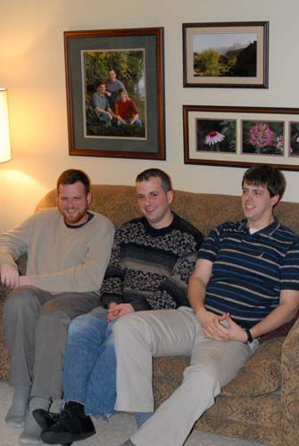 Jim, Scott, Joe, 2006